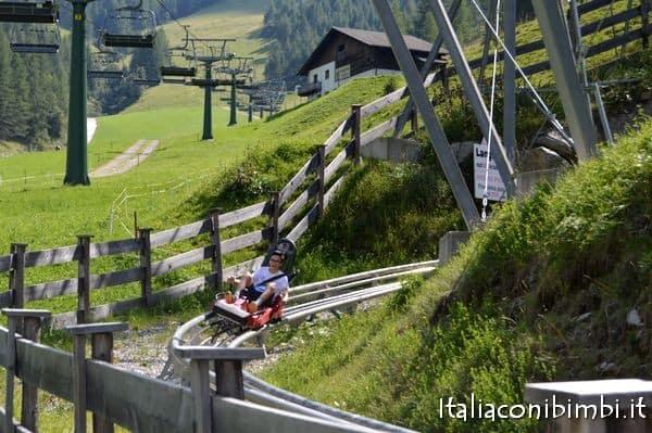 Alpine Coaster a Klausberg in Valle Aurina