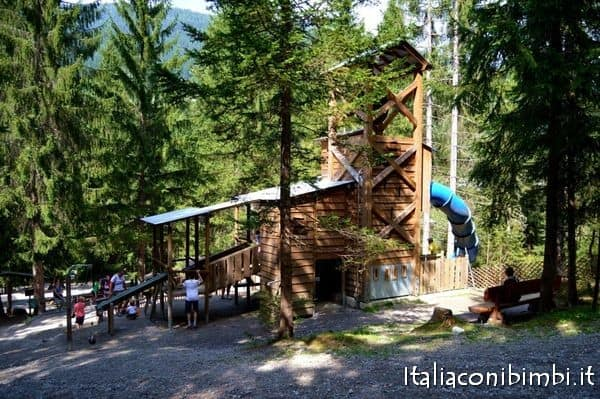Miniera del parco degli gnomi Val Pusteria