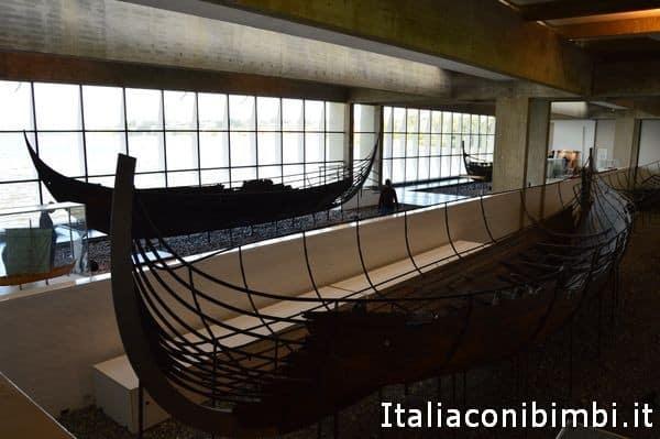 Sala delle navi vichinghe a Roskilde