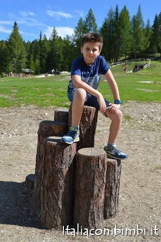 Summer Park La Crusc in Val Badia