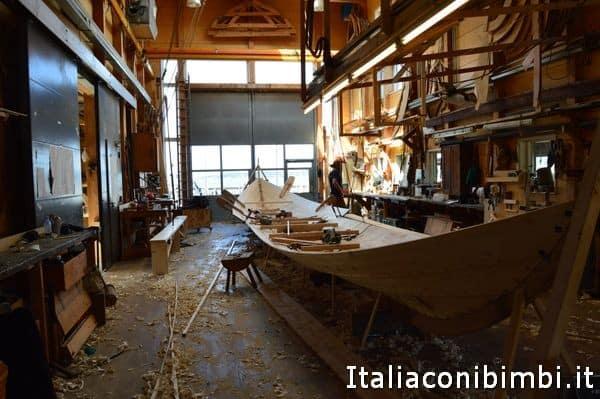 cantiere navale al Museo delle navi vichi