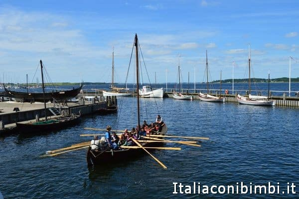 escursione in barca a Roskilde