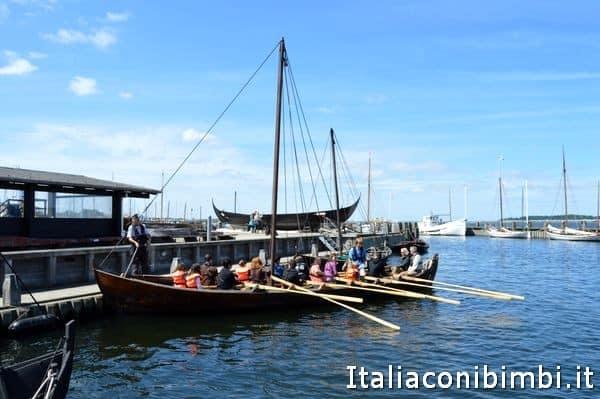 escursione in barca al Museo delle navi vichinghe di Roskilde