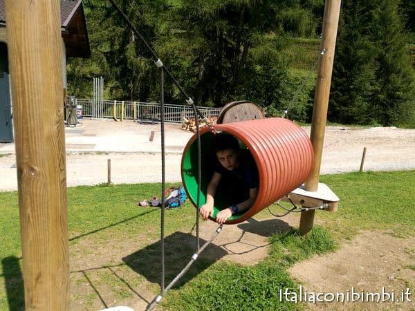 parco giochi del Family Park Klausberg Valle Aurina