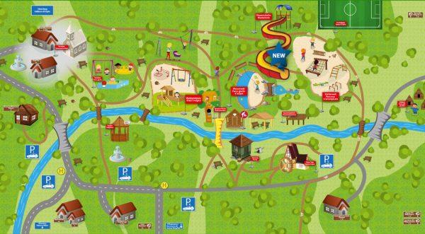 mappa del kinderwelt olang