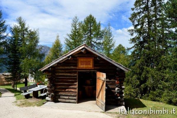 mostra fotografica al Summer Park La Crusc in Val Badia