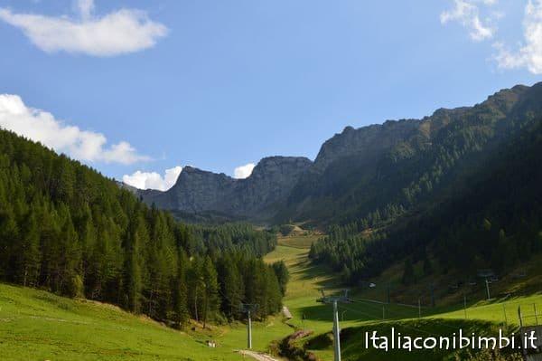 paesaggio Klausberg Valle Aurina