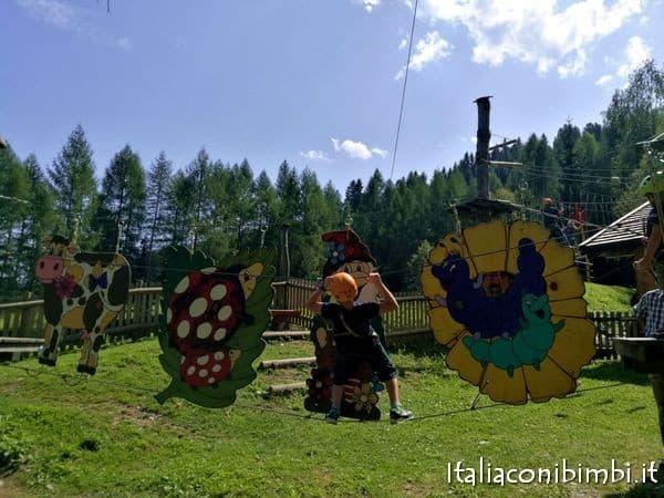 parco avventura Wichtelpark Alta Val Pusteria