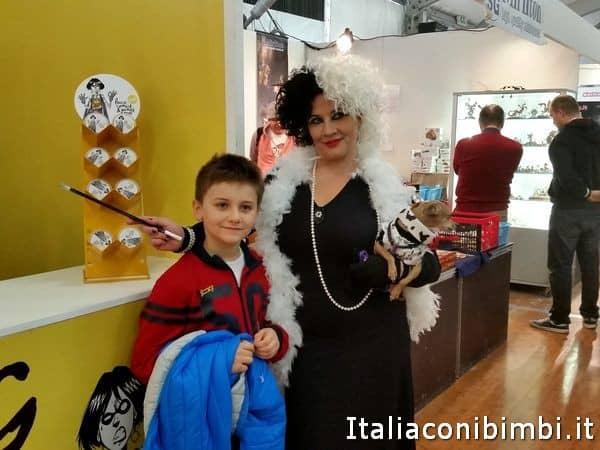 Lucca Comics con bambini