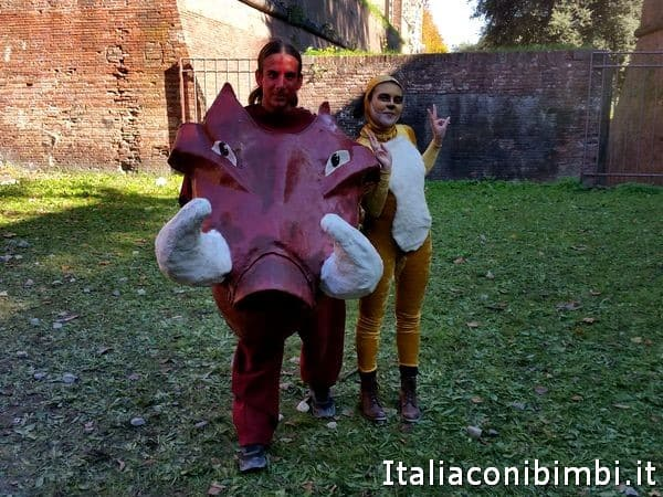 Cosplayer a Lucca Comics