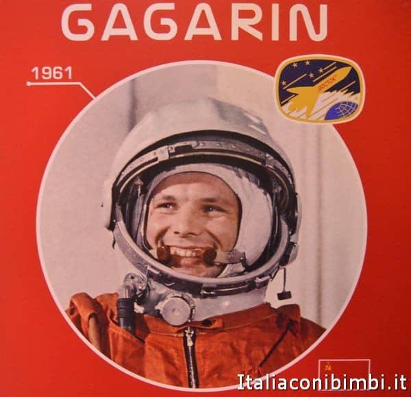 Gagarin alla mostra Cosmos Discovery