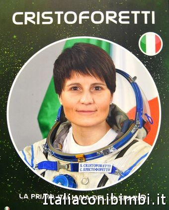 Samantha Cristoforetti la prima donna italiana nello spazio