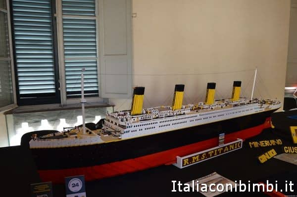 Titanic di LEGO a Lucca Comics and Games