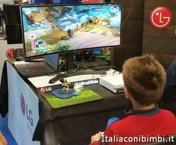 Videogiochi a Lucca Comics and Games