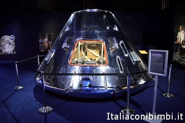capsula spaziale alla mostra Cosmos Discovery
