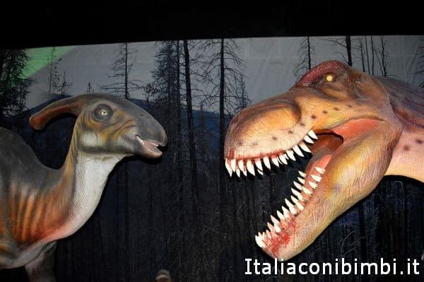 dinosauri al Guido Reni District Roma