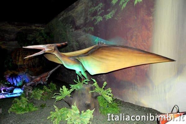dinosauri della mostra Dinosaur Invasion Roma