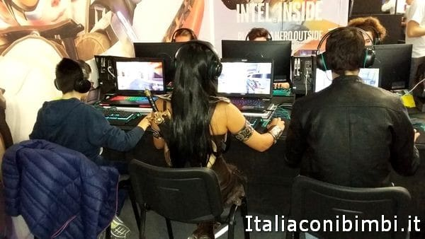 gioco libero a Lucca Comics and Games