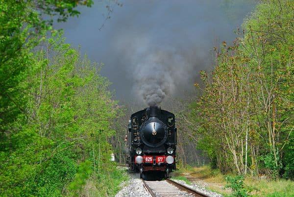 treno a vapore di Marradi