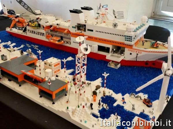 mostra Lego a Lucca Comics and Games