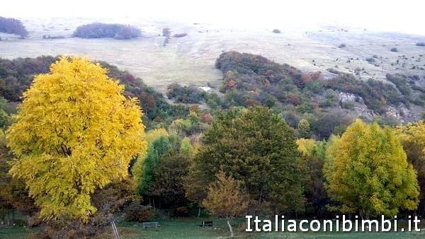 paesaggio a Collelungo