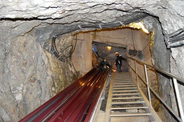 scivolo della miniera di Bad Bleiberg Terra Mystica