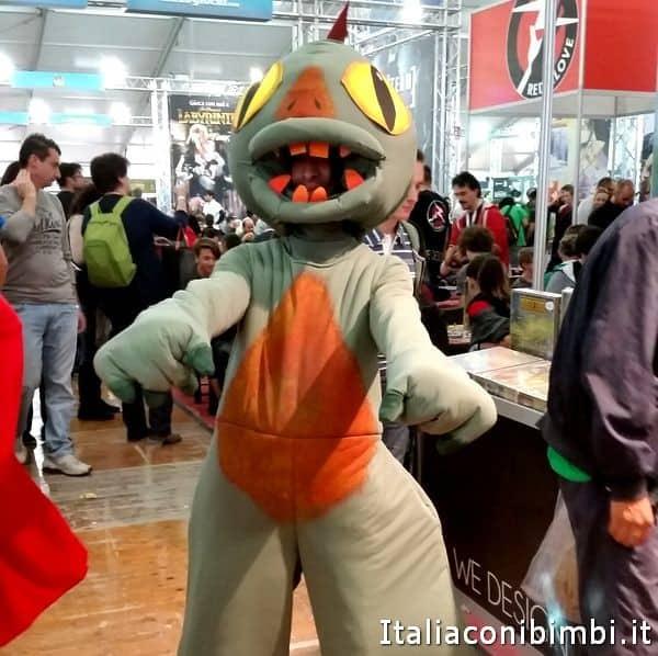 un Cosplayer a Lucca Comics and Games