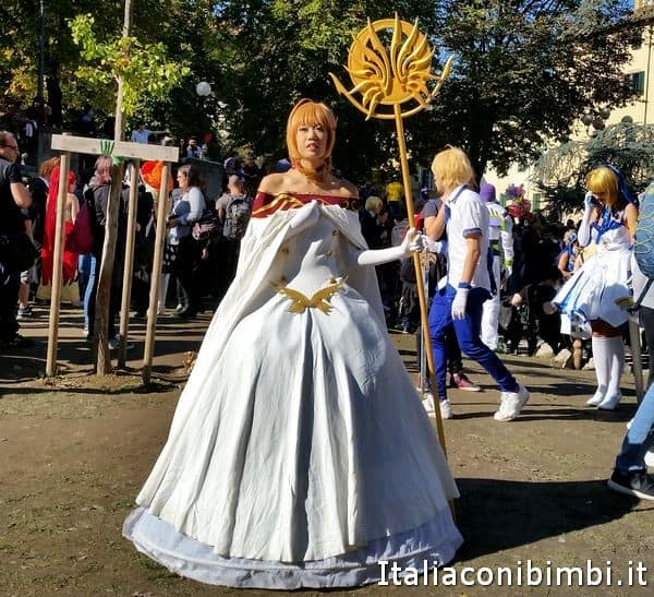 una Cosplayer a Lucca Comics and Games