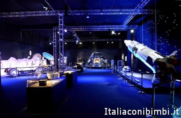 una sala della mostra Cosmos Discovery