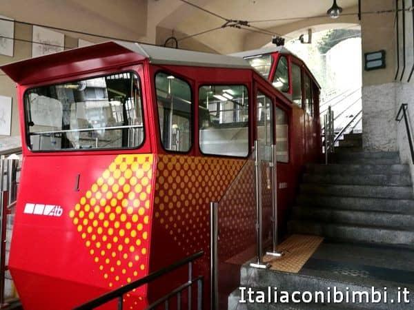 funicolare di Bergamo esterno
