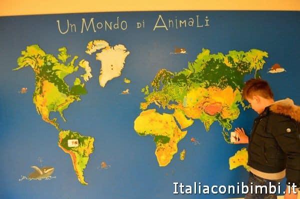 giochi al museo di scienze naturali di Bergamo