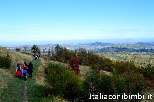 partecipanti alla passeggiata di Good Morning Sibillini