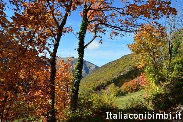 sentiero dei camosci di Bolognola