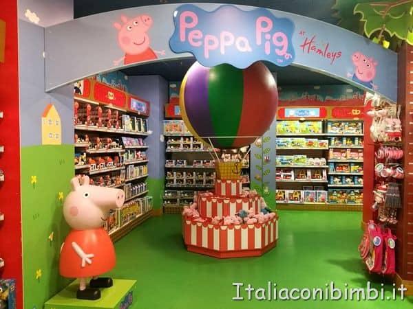 Peppa-Pig-da-Hamleys-di-Londra