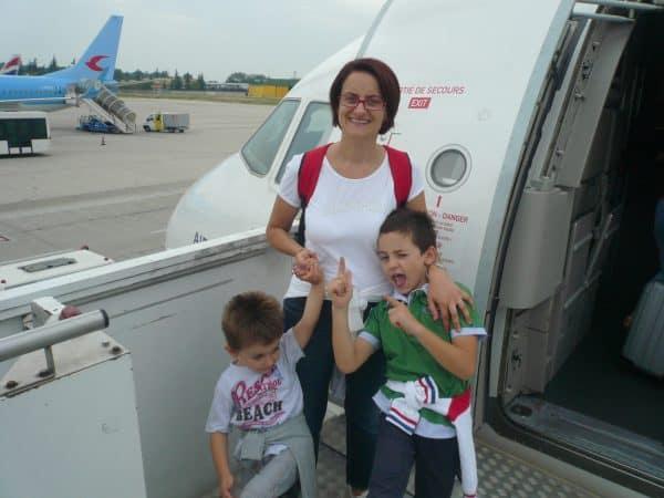 Volo a Parigi con i bambini