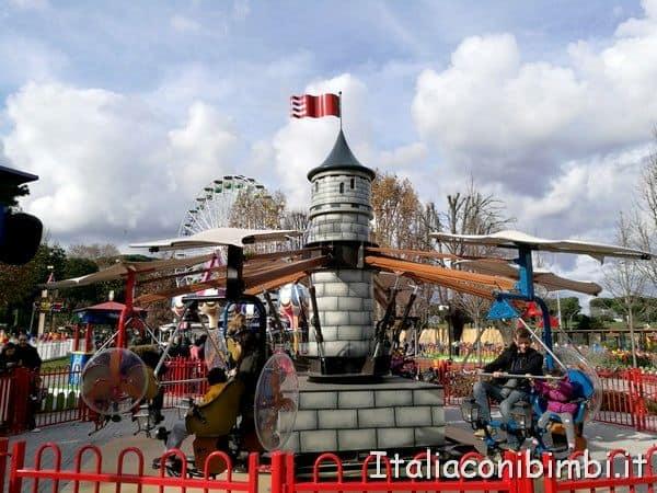pedalibus al Luneur Park di Roma