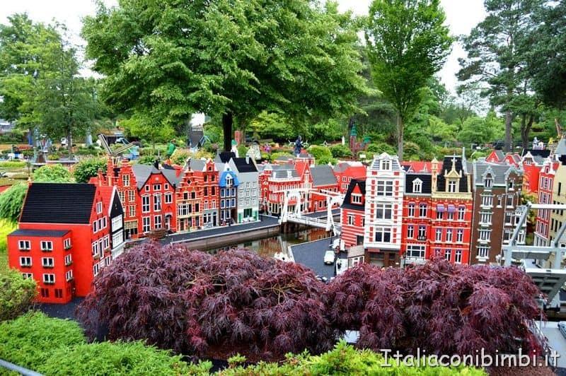 Area Miniland a Legoland Billund in Danimarca