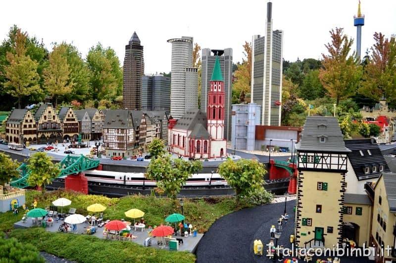 Area Miniland a Legoland Günzburg