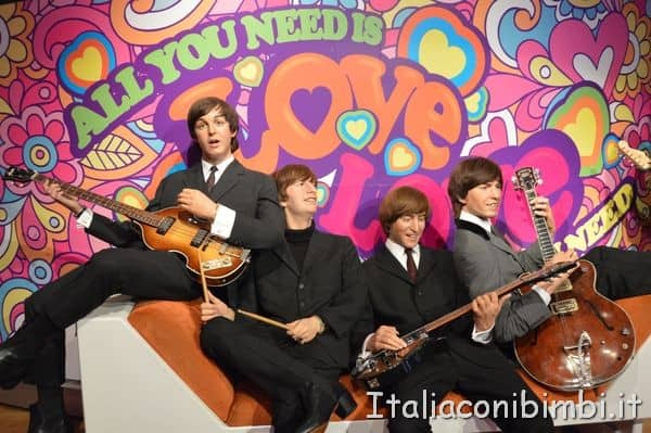 Beatles al Madame Tussauds di Londra