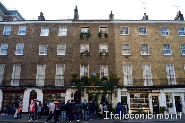 Casa di Sherlock Holmes Londra