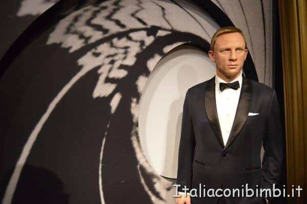 Daniel Craig al Madame Tussauds di Londra