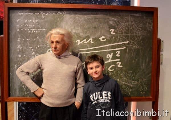 Einstein al Madame Tussauds di Londra