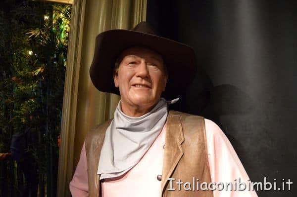 John Wayne al Madame Tussauds di Londra