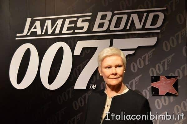Judi Dench al Madame Tussauds di Londra