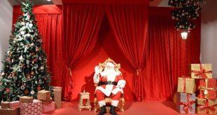 Sala del trono nel Castello di Babbo Natale a Montepulciano