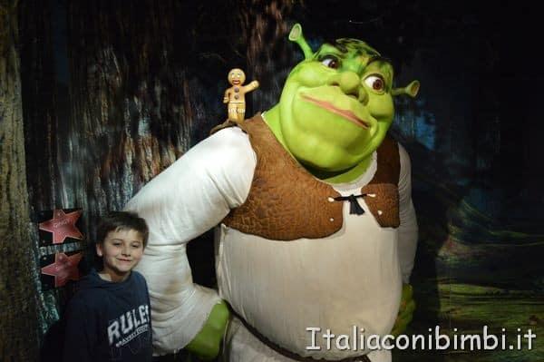 Shrek al Madame Tussauds di Londra