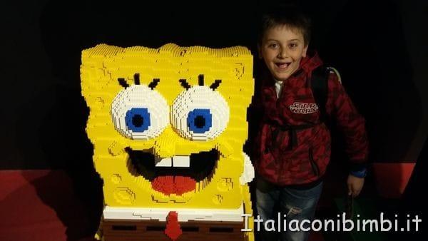Spongebob al Legoland Discovery Centre di Berlino