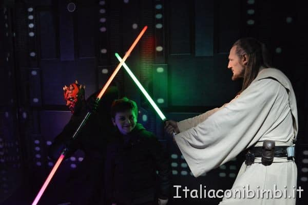 Star Wars al Madame Tussauds di Londra