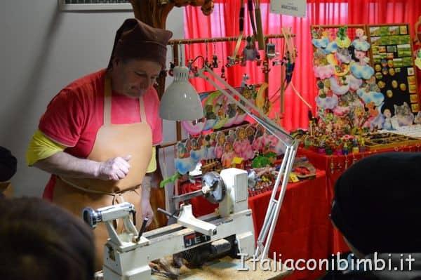 artigiano a Natale a Montepulciano