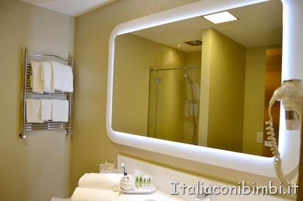 bagno dell'hotel Valle di Assisi